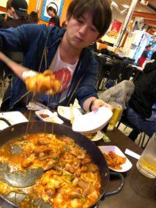 ピースグループ 韓国慰安旅行